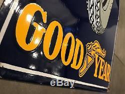 Plaque émaillée Good-Year pneus