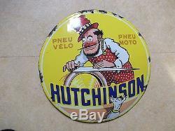 Plaque émaillée HUTCHINSON(Le remouleur)