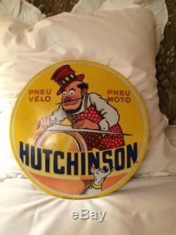 Plaque Émaillée Hutchinson