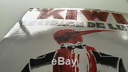 Plaque émaillée KIWI signée BELLENGER 29
