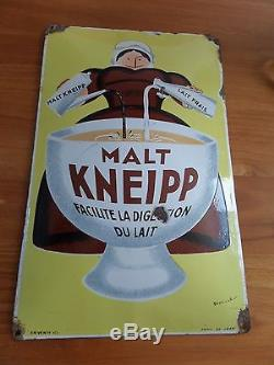 Plaque émaillée MALT KNEIPP