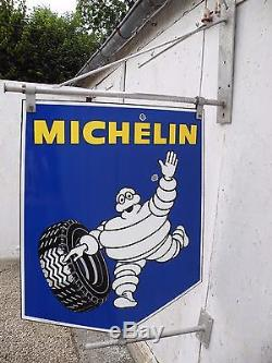 Plaque émaillée MICHELIN