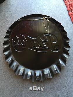 Plaque Émaillée Pepsi Cola Vitracier Neuhaus Rarissime État