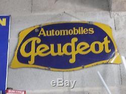 Plaque émaillée Peugeot