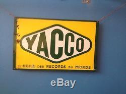 Plaque émaillée YACCO