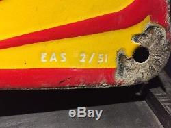 Plaque émaillée ancienne Shell garage