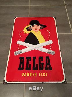 Plaque émaillée belga