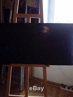 Plaque émaillé publicitaire ancienne CINZANO grande taille 197cm