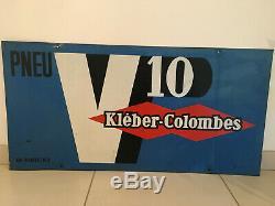 Plaque no emaillée pneu KLEBER COLOMBES V10