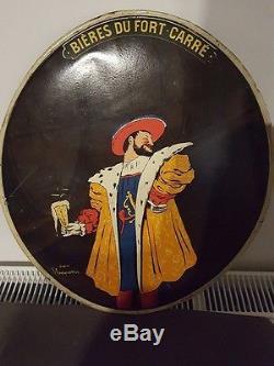 Plaque tôle bière fort carré