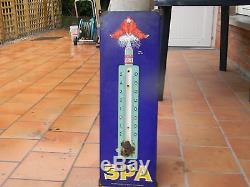 Plaque thermomètre spa