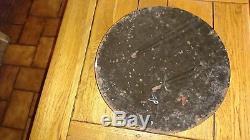 Plaque tôle HUTCHINSON diamètre 39, 5 cm
