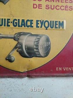 Plaque tole ancienne eyquem
