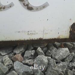 Plaques émaillées anciennes garage spido
