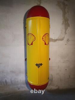 Pompe à essence murale Satam 1935 Shell