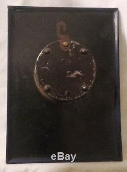 Potasse D'alsace / Pendule Horloge Glaçoïde Hansi Ancienne Authentique / Rare