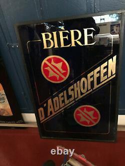 Publicité verre ADELSHOFFEN Schiltigheim STRASBOURG pas de plaque émaillée