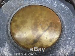RARE & Ancien Compresseur Mascotte Michelin Bibendum 1930 Gonfleur! Bidon huile