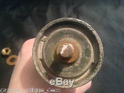 RARE & Ancienne Mascotte Michelin Bibendum Bouchon Radiateur! Bidon huile