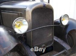 RARE CITROEN C4 1929 ETAT D ORIGINE AUTHENTIQUE bidon huile oil can pompe pump