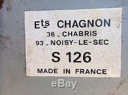 RARE, Grande Plaque Publicitaire Michelin Bibendum Lithographiée 1960
