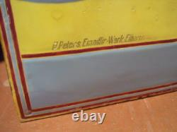 RARISSIME PLAQUE EMAILLEE VELO OPEL ANNEES 10 herse singer old bicycle tandem