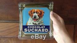 Ramasse monnaie SUCHARD / très bel état / GERRER 63 / chocolat / chien
