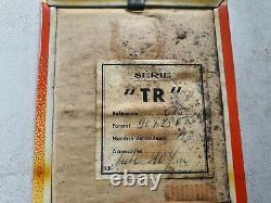 Rare Ancien thermomètre Glaçoide SODIBAR Rhum Ruyter no plaque émaillée