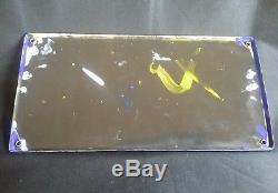 Rare Ancienne plaque émaillée chicorée arlatte emaillerie alsacienne
