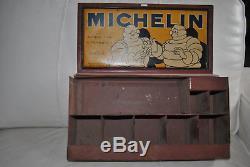 Rare Boite réparation MICHELIN PARADIS 100% état origine