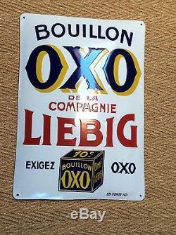 Rare Plaque Bouillon Oxo Liebig