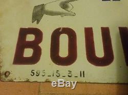 Rare Plaque Emaillee Kub