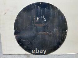 Rare Plaque Émaillée VESPA Année 1952 / 80 cm Enamel Sign Emailschild Smaltata