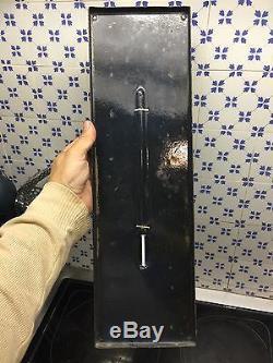 Rare Plaque Plaque Emaillee Thermometre cinzano Aperitif Thermometre Edmond jean