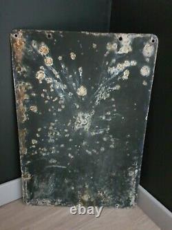 Rare Plaque émaillée anciennes Liebig