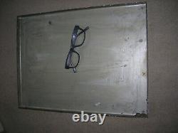 Rare Plaque émaillée de rue pub clinique 1900 email en relief 30x40 TTB