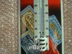 Rare Thermometre emaille Riz La Croix Top Etat! RARE