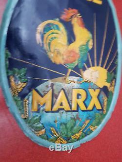 Rare Tole Biere Marx 1900