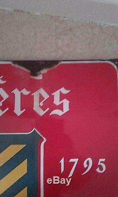 Rare ancienne plaque émaillé ingwiller Alsace 1930