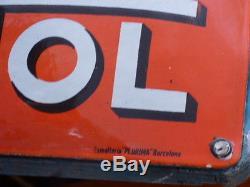 Rare plaque emaillee 1920 thermometre NETOL, superbe etat. Plurima barcelona
