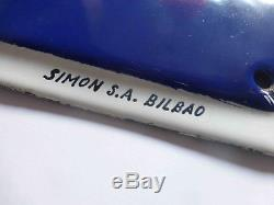 Rare plaque émaillée Michelin, very scarce old porcelain sign