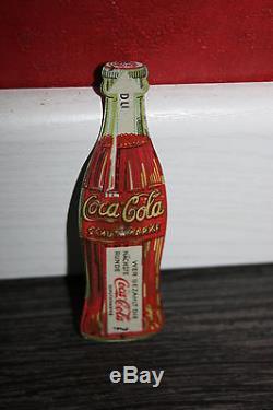 Rare toupie de bar coca cola 1930 publicitaire tole lithographiée jouet ancien