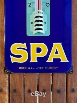 SPA Monopole Thermomètre émaillé! Plaque emaillee
