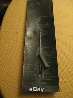 SPLENDIDE & RARE PLAQUE BOMBEE EMAILLEE THERMOMETRE BEBE NESTLE 33,3 cm x115