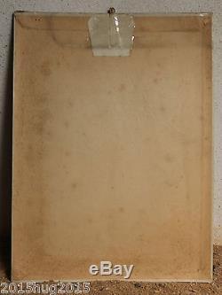 SUPERBE ANCIENNE PLAQUE PUBLICITAIRE GLACOIDE GUIGNOLET D'ANGERS COINTREAU