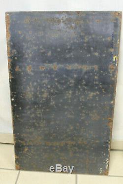 Splendide plaque émaillée malt kneipp signé beuville superbe état conservation