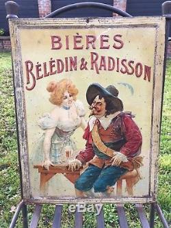 Superbe brasserie beledin & radisson Lyon vers 1910