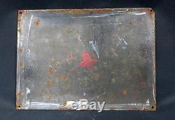 Superbe plaque émaillée ancienne chicorée williot 32x23,5 cm