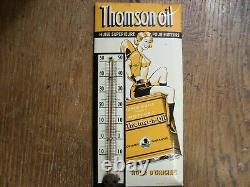 THERMOMETRE Huile Thomson glaçoide avec PIN UP