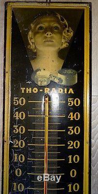 Thermometre Pub Tho Radia Tôle Litho Top